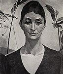 Marion H. Beckett - Portrait of Georgia O'Keeffe.jpg