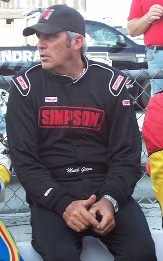 Mark Green (racing driver) - Green at the Milwaukee Mile in 2009
