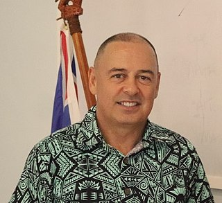 Mark Brown (Cook Islands) Prime Minister of the Cook Islands (2020-present)