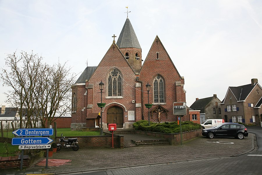 Church of Markegem, BE
