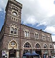 Market Hall - Abergavenny - panoramic (18874803900).jpg