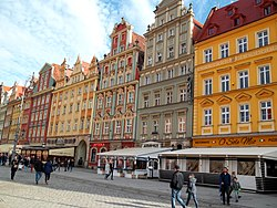 Market Square in Wrocław - south side.jpg