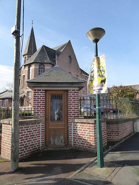Maison Retraite Sainte Geneviève Marquillies Nord.- France.