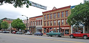 Marshall, Michigan - Image: Marshall MI Downtown 2