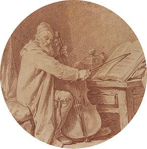 Martin Berteau - Martin Berteau by Nicolas-Bernard Lépicié