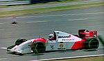 Martin Brundle - Mclaren MP4-9 at the 1994 British Grand Prix (32418588831).jpg