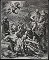 Martyrdom of Saint Emmeramus. Engraving. Wellcome V0031931.jpg
