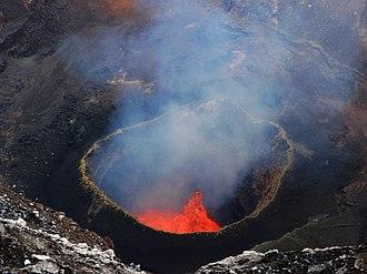 Lava lake - Lava lake in Marum crater, Ambrym