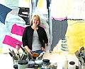 Mary Elizabeth Peterson in the studio, 2013.jpg