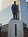 Masaru Inoue Bronze statues in Tokyo Station Marunouchi Square.jpg