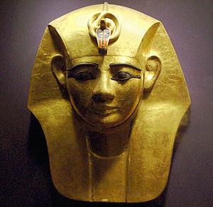 Eye of Ra - The uraeus on the royal headdress of Amenemope
