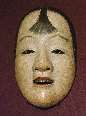 Sharaku - A Noh mask