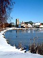 Massingham in the snow - geograph.org.uk - 419850.jpg