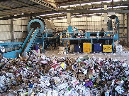 Мини завод по переработке мусора отходов утилизация