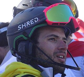 Mathieu Faivre French alpine skier