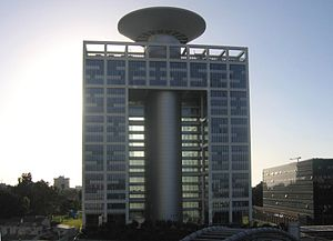 HaKirya - General Staff building (Matcal Tower), the new landmark of the Kirya
