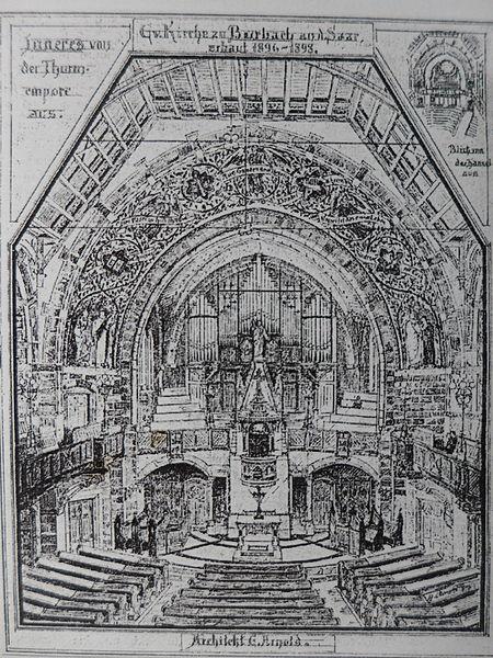 Datei:Matthäuskirche (Saarbrücken-Burbach)EntwurfInnenL1010565.JPG
