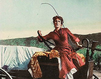 The Deadly Companions - Image: Maureen O'Hara from Deadly Companions lobby card 3