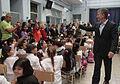 Mauricio Macri dió inicio al ciclo lectivo de la Ciudad (8527937539).jpg