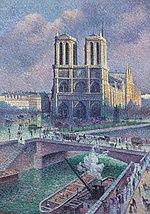 Notre Dame de Paris , 1900