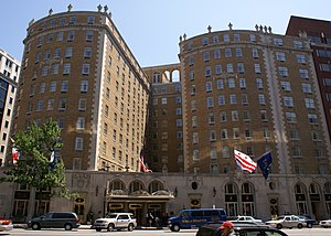32nd Scripps National Spelling Bee - The Mayflower Hotel, site of the 32nd National Spelling Bee
