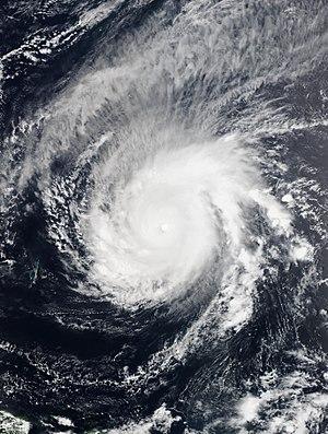 2015 Pacific typhoon season - Image: Maysak 2015 03 31 Suomi NPP
