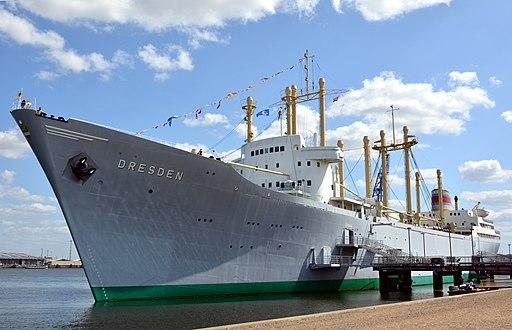 Mecklenburg-Vorpommern, Rostock, Museumsschiff Dresden (Schifffahrtsmuseum Rostock)