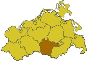 Müritz (district) - Image: Mecklenburg wp muer