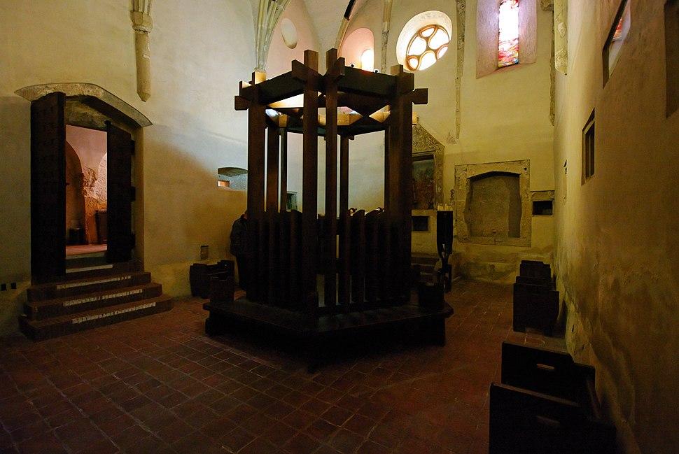 Medieval mikveh old Synagoge Sopron Hungary
