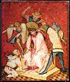 Medio reno o westfalia, altare del medio reno, 1410 ca., verso 02 cristo cronato di spine.jpg