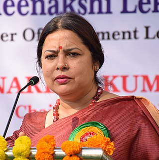 Meenakshi Lekhi Indian politician