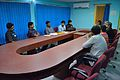 Meeting with Wikipedians and JU Officers - Bengali Wikipedia 10th Anniversary Celebration - Jadavpur University - Kolkata 2014-11-21 0674.JPG