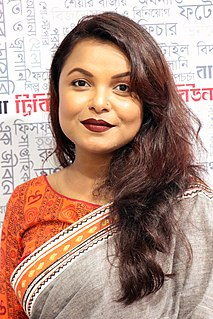 Meher Afroz Shaon Bangladeshi actress, director and architect