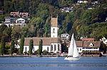 Meilen - Kirche - Dampfschiff Stadt Rapperswil 2013-09-13 16-22-32.JPG