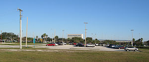 Orlando Melbourne International Airport - Image: Melbourne International Airport (Florida) Front 2