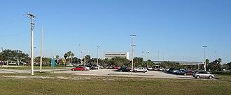 Orlando Melbourne International Airport - Image: Melbourne International Airport (Florida) Front 2