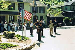 Feian zan Memorial Day in Chester