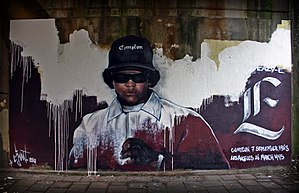 Eazy-E - Graffiti of Eazy-E in the Netherlands