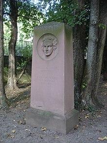 Menzels Grab auf dem Stuttgarter Hoppenlau-Friedhof (Quelle: Wikimedia)