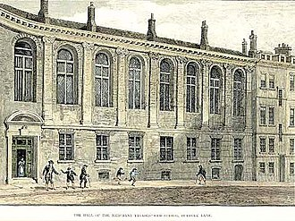 Merchant Taylors' School, Northwood - The School at Suffolk Lane: 1675–1875