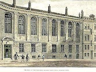Merchant Taylors' School, Northwood - The School at Suffolk Lane: 1675–1875
