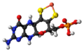 Metal-binding pterin complex ball.png
