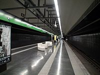 Metro Barcelona Roquetes Station.JPG