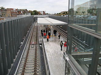 Øresund Station - Image: Metro Oresund Station