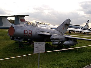 Mikoyan-Gurevich MiG-15 - MiG-15bis at Monino Aircraft Museum