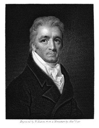 Michael Bryan (art historian) - Portrait of Michael Bryan (Engraved by William Haines after Alexander Pope)