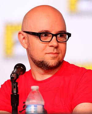 Michael Dante DiMartino - DiMartino at the 2012 San Diego Comic-Con International.