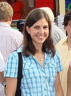 Michela Ponza in Püttlingen 2008