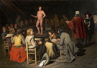Figure drawing - Image: Michiel Sweerts De tekenles (1660)