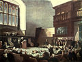 Microcosm of London Plate 025 - Court of Exchequer, Westminster Hall.jpg
